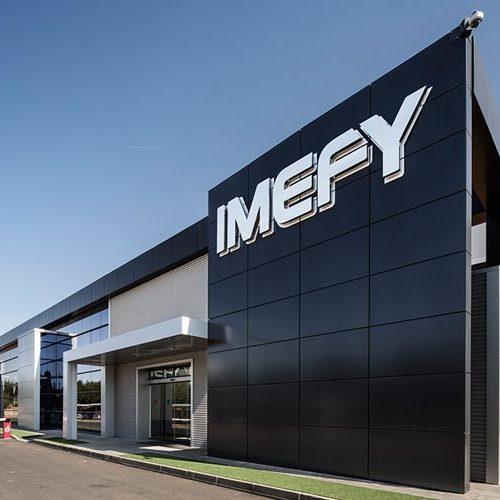arquitectura corporativa fachada IMEFY